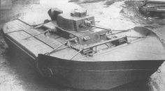 PzKw 38t with swimming float system.