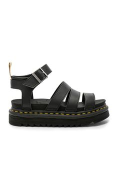 65951ce7703 Martens Vegan Blaire Sandal in Black at REVOLVE.