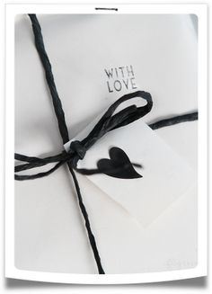 With love gift wrap