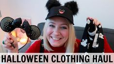 HALLOWEEN CLOTHING HAUL: What I'm Packing For Disneyland Paris! British Youtubers, Clothing Haul, Disneyland Paris, Halloween Outfits, Primark, Packing, Clothes, Bag Packaging, Outfits