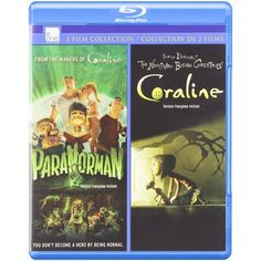 ParaNorman / Coraline Double Feature [Blu-Ray, 2-Movie Set]