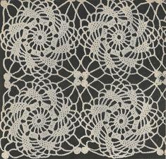 Pinwheel Motif Crochet PATTERN from a 1955 by BlondiesSpot on Etsy