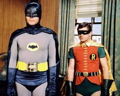 Batman TV Series Batman is a American live action television series, based on the DC comic book character of the same name. It stars Adam West as Batman and Burt Ward as Robin — two Adam West Batman, Batman 1966, Batman Robin, Real Batman, Christopher Eccleston, Tv Theme Songs, Robin Day, Nananana Batman, 60s Tv