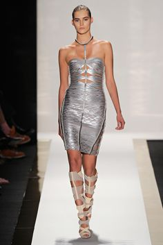 Hervé Léger by Max Azria | Spring 2012 Ready-to-Wear Collection | Style.com