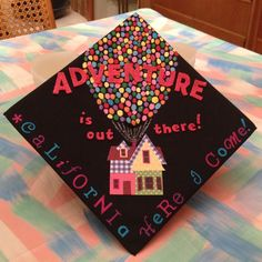 Leaving for the #Disney College Program in Disneyland 10 days after I #graduate this Friday, so I decided to decorate my #graduation cap. Congrats #ClassOf2013, we did it!!