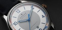 Farer Automatic Watch - Endurance - Sliver Sunray Dial + Date - ETA 2824-2 - 39.5mm Case