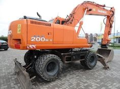 Click On The Above Picture To Download Doosan Daewoo Solar 200w-v Wheel Excavator Service Repair Workshop Manual