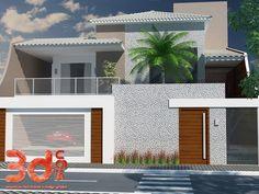 Construindo Minha Casa Clean: Fachadas! Muros, grades e portões para embelezar e proteger sua casa!!!