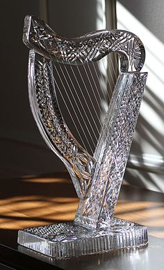 Cashs Pieces of Art Collection, Large Irish Harp Sculpture