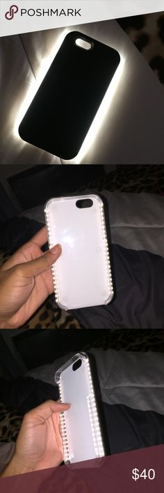 iPhone 6 Black LuMee Case Condition: 10/10 Do not offer me anything less than 30 LuMee Accessories Phone Cases