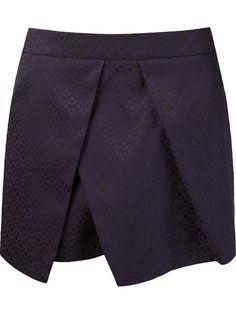 Short saia de jacquard