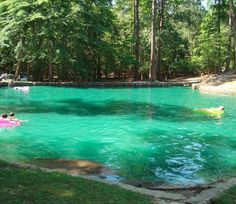 While I was out in East Texas over the Summer, my friend took us out to this hidden gem, Tonkawa Springs near Nacogdoches. Its a pretty awesome natural