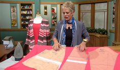 Sewing Tips Sew a knit wardrobe start to finish with tips from Sewing With Nancy's Nancy Zieman - While I like trying new sewing and quilting techniques, there's something irresistible about sewing the basics. Going back to my sewing roots, these next two Sewing Lessons, Sewing Class, Sewing Hacks, Sewing Tutorials, Sewing Tips, Nancy Zieman, Sewing With Nancy, Love Sewing, Hand Sewing