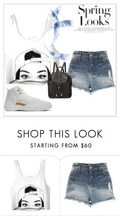"""Spring Looks🌻☀🌺"" by bowkam ❤ liked on Polyvore featuring River Island, Foley + Corinna and H&M"