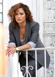 Jennifer Lopez's character in her new TV series Shades of Blue looks like the real deal. Detective McCord is supercool, pairing her gray pinstriped business suit with high-heel booties and wearing a killer brown smoky eye.
