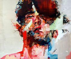 Andrew Salgado malt Individuen in der Krise | Art Armada