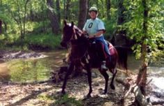 Ali's first 30 mile competitive trail ride at Cherryvale, Kansas.