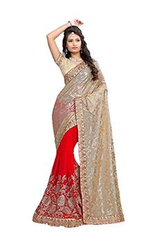 PCC Indian Women Saree Designer Party wear Wedding red Color Sari K5511 *** See this great product-affiliate link-affiliate link.