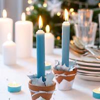Lindt | Voici une idée raffinée et originale pour habiller votre table à Noël grâce à nos chocolats Les Pyrénéens..