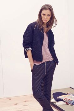 Isabel Marant Gives Us A Master Class In Mixing Prints #refinery29 http://www.refinery29.com/56342#slide3