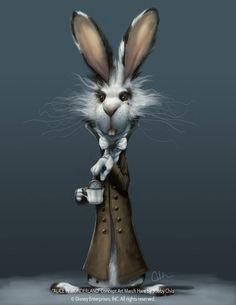 "Bobby Chiu ""March Hare"" Concept art for Tim Burton's ""Alice in Wonderland"""