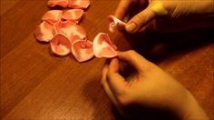 Flower Crafts, Craft Flowers, Ballet Shoes, Dance Shoes, Ribbon, Embroidery, Youtube, Fabric Ribbon, Bias Tape