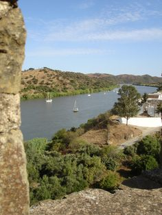Guadiana river #algarve #portugal