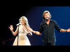 "Taylor Swift and Ronnie Dunn sing ""Bleed Red."" I can't watch this without crying. Best. Night. Ever."