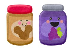 Peanut butter and jelly partners?!  Holy cow, this is the cutest idea ever for partner reading @Erica