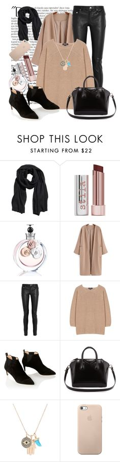 """Без названия #1765"" by ekozlova ❤ liked on Polyvore featuring Balmain, H&M, Stila, Valentino, Yves Saint Laurent, A.P.C., All Tomorrow's Parties, Givenchy, Sydney Evan and women's clothing"