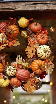 fall wreath....