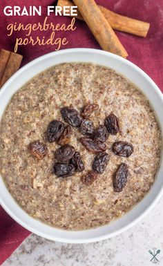 This grain free, paleo porridge recipe is made with a few simple ingredients and packed with healthy fat, protein, and Vital Proteins collagen peptides. #ad