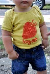 Sooooo Cute!  100% organic cotton and made in the USA!!