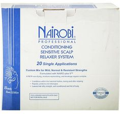 Nairobi Conditioning Sensitive Scalp Relaxer - 20 Applications  $59.95 Visit www.BarberSalon.com One stop shopping for Professional Barber Supplies, Salon Supplies, Hair & Wigs, Professional Product. GUARANTEE LOW PRICES!!! #barbersupply #barbersupplies #salonsupply #salonsupplies #beautysupply #beautysupplies #barber #salon #hair #wig #deals #sales #Nairobi #Conditioning #Sensitive #Scalp #Relaxer