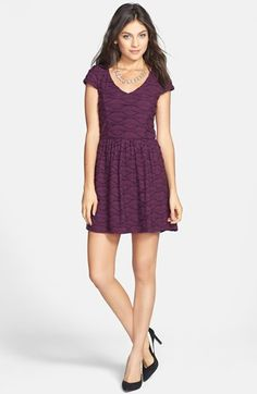 #Socialite                #Dresses                  #Socialite #Ruffled #Skater #Dress #(Juniors) #Plum #Small                    Socialite Ruffled Skater Dress (Juniors) Plum Small                           http://www.snaproduct.com/product.aspx?PID=5178010