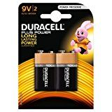 #7: Duracell Plus Power Type 9 V Alkaline Batteries - Pack of 2 #movers #shakers #amazon #electronics #photo