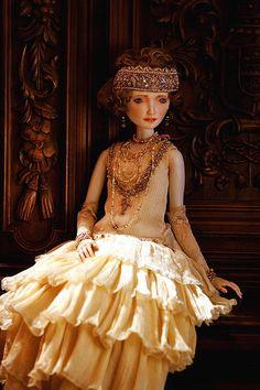 Фарфоровые куклы Оксаны Сахаровой | Mary