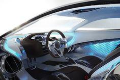 Jaguar C-X75 Electric-Turbine Concept