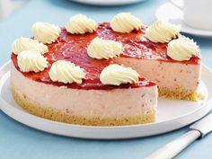 Rezept: Frischkäse-Erdbeer-Kuchen