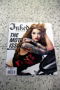"""IN """"Camden News"""" store to see """"inked"""" magazine"""