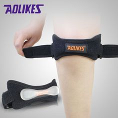 Fully Adjustable Jumpers's Knee Patellar Tendon Support Strap Band Knee Support Brace Pads Fit Running,basketball Outdoor Sport