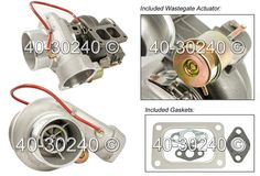 Buyautoparts.com BorgWarner turbos. BorgWarner part number is 174260