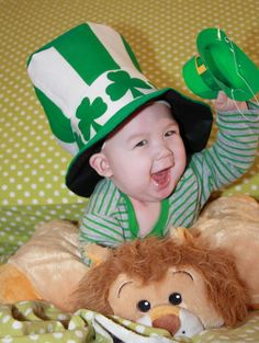 Image detail for -Babies first St. Patricks Day | Selina | Disney Baby