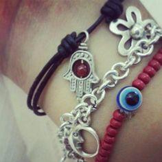 Mis pulseritas de la suerte , las amo ♥♥♥