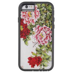 Cool Vintage Floral Pattern Case Cover Tough Xtreme iPhone 6 Case
