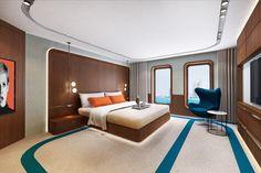 Swiss Bureau Interior Design Designed Isuites Hotel Dubai