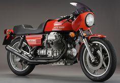 Moto Guzzi V 850 Le Mans Italian 1975-1980  #bikes #motorbikes #motorcycles #motocicletas #motos