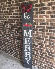 Be Merry Porch Sign with Red Truck signs Be Merry Porch Sign with Red Truck Christmas Signs Wood, Holiday Signs, Noel Christmas, Country Christmas, Christmas Ornaments, Christmas Red Truck, Merry Christmas Sign Diy, White Christmas, Farmhouse Christmas Decor