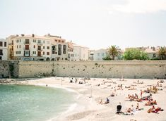 Sunbathing in the French Riviera, photo by Kallie Brynn