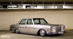 Jimmy's Bagged Mercedes Benz 280SE